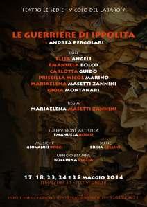 Le guerriere di Ippolita Locandina