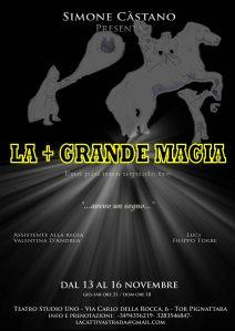 La + grande magia_13-16 nov_Teatro Stugio Uno